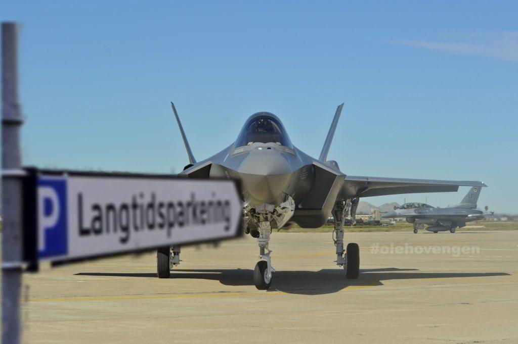 F-35 150 milliarder ut av vinduet?