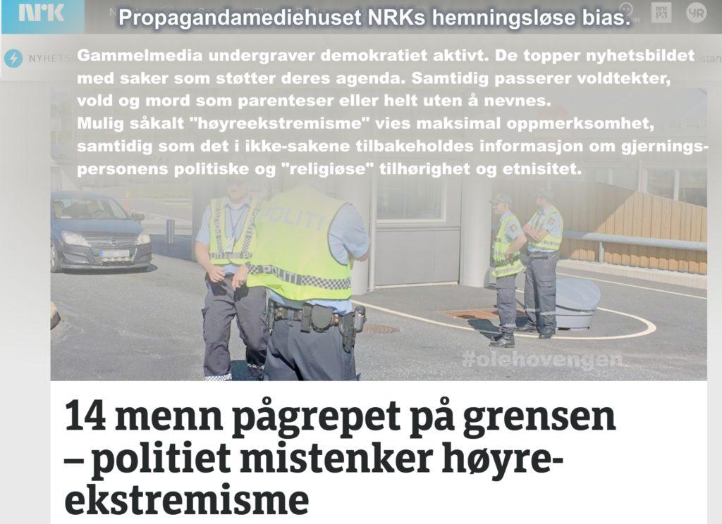 NRK og annet gammelmedias hemningsløse bias