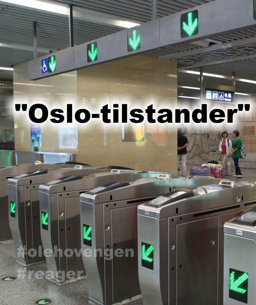 Innvandringsregnskapet øker med utbredelsen av Oslo-tilsatander